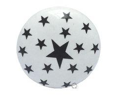 La Finesse - Deurknop sterren zwart