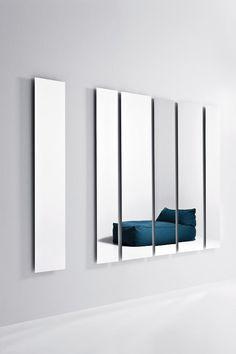 Complementi zona giorno   specchi  modello Geometrika rettangolare   Pianca design made in italy mobili furniture casa home giorno living notte night