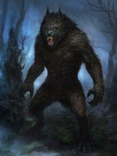 Werewolf by TsimmerS. Looks very bear-like. :3