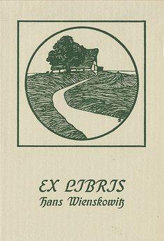 [Bookplate of Hans Wienskowitz] by Pratt Institute Library, via Flickr