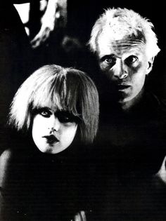 Daryl Hannah and Rutger Hauer in Blade Runner (1982), directed by Ridley Scott.
