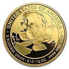 2015 W 1/2 oz Proof Gold Jacqueline Kennedy (w/Box & COA) 1/2 OZ Brilliant Uncirculated