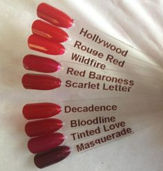 shellac red