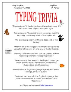 Worksheets Typing Practice Worksheets a beautiful poster featuring basic digital skills every teacher typing trivia keyboarding practice
