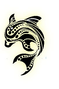 Tribal Dolphin Tattoos Designs Skin-Art Pictures Images Photos Ink Flash 35