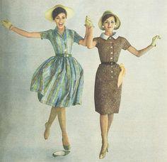 1960s spring dresses