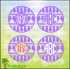 Easter Icons Monogram Base Digital Clipart & Cut File Instant Download Jpeg Png SVG EPS DXF Formats - pinned by pin4etsy.com