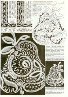 View album on Yandex. Crochet Motif, Crochet Doilies, Crochet Patterns, Bruges Lace, Lace Art, Bobbin Lace Patterns, Knitting Stiches, Lacemaking, Textiles