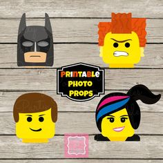 ON SALE Photo Props Instant Download Lego by PartyPoshPrintables, $6.00