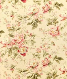 This is a GORGEOUS Vintage-look, Pale PINKS, Floral Ensemble, I LOVE it!