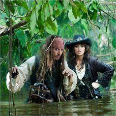 Piratas do Caribe - Navegando em Águas Misteriosas : foto Johnny Depp, Penélope Cruz, Rob Marshall