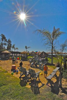 Padaro Beach Grill - Great family restaurant outside of Santa Barbara with gorgeous outdoor seating and a sandbox for the kids to play in.