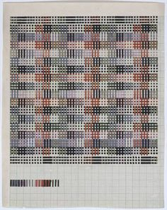Design for tablecloth MoMA | The Collection | Anni Albers. (American, born Germany. 1899–1994)