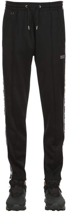 BELSTAFF, Sophnet cotton blend track pants, Black, Luisaviaroma - Elastic waistband with drawstring . One back pocket. Mens Athletic Pants, Belstaff, One Back, Parachute Pants, Cotton, Track, Orange, Fashion, Trousers Women