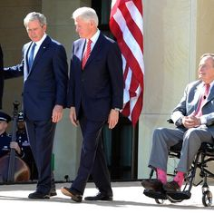All five living United States presidents are in attendance at Thursdays dedication of the George W. Bush Presidential Center and Bush Presidential Library.