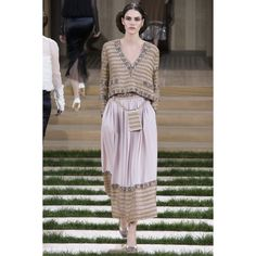 Chanel Spring 2016 Couture ❤ liked on Polyvore featuring runway