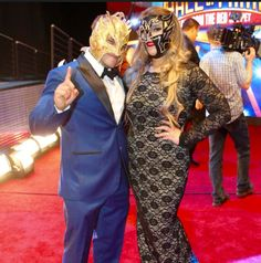 Kalisto and his wife Wwe Couples, Wwe Tna, Wrestling, Lucha Libre
