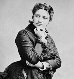 Victoria Woodhull (1838-1927)  First woman to be nominated and campaign for the U.S. presidency. She was nominated by the Women's National Equal Rights Party. Woodhull and her sister were also the first two female stockbrokers on Wall Street.