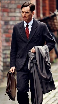 Benedict Cumberbatch as Alan Turing - can't wait to watch this movie. Alan Turing was such a great mind.