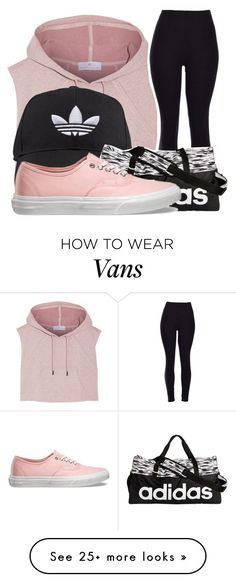 Dance Class by todopeaerii on Polyvore featuring adidas, Vans, womens clothing, women, female, woman, misses and juniors