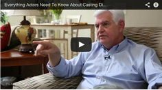 Everything Actors Need To Know About Casting Directors by Steve Tom via http://www.filmcourage.com/.  More video interviews at https://www.youtube.com/user/filmcourage  #actor #actingadvice #audition #film #television #theater #movies #casting