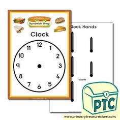 Fast Food Takeaway Role Play Resources - Primary Treasure Chest Teaching Activities, Teaching Ideas, Ourselves Topic, Sandwich Shops, Candy Shop, Role Play, Treasure Chest, Cooking Timer, Sandwiches