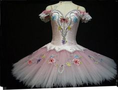 "Exclusive creation. Entirely made by a famous Japanese tutu maker, exclusively for Dancewear by Patricia. This professional, bell-shaped tutu is perfect for the ""Jardin Anime"" Act of Le Corsaire. It i"