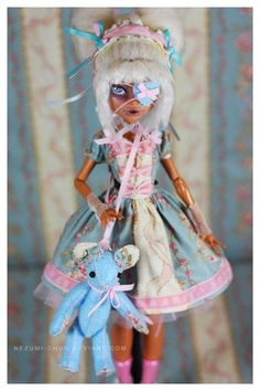 I found 'Monster High Dolls Rococo style Lolita Clothing Set by Nezumitoo' on Wish, check it out!