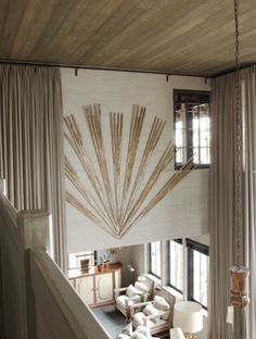 McAlpine Booth & Ferrier Interiors Giles Lakehouse » McAlpine Booth & Ferrier Interiors Great Radiating lines
