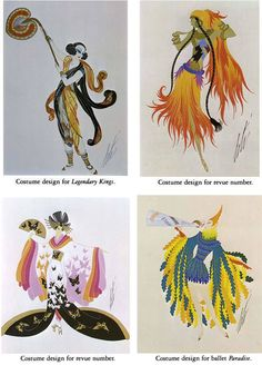 Dover Publications: Erte Costume Designs