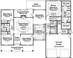 Unique Dormered Design - 51019MM   1st Floor Master Suite, Bonus Room, CAD Available, Corner Lot, PDF, Photo Gallery, Southern, Split Bedrooms, USDA Approved   Architectural Designs