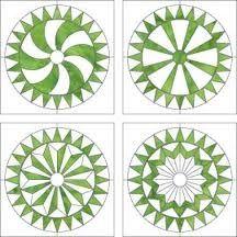 Mississippi wheel variations -  (sunflower quilt)