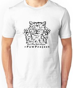 Kiss The Paws  Unisex T-Shirt