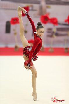 Anna Sokolova (Russia), junior, ball 2017