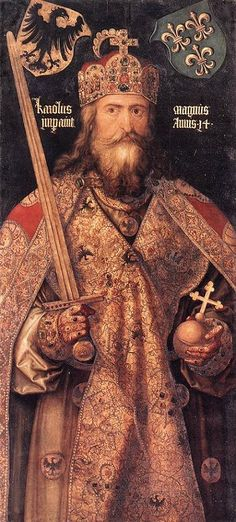 """Charlemagne- """"Charles the Great"""" was the same height and weight as me, was a devout Christian and a good king, one of my favorite people from History."""
