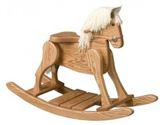 Adorable Rocking Horse - a great toy that will be cherished for years to come!