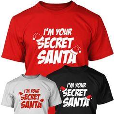 Secret Santa T Shirt