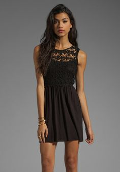 BAILEY44 Valezques Dress in Negro #Bailey44 Bailey 44