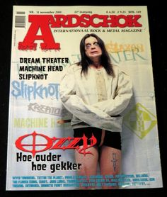 Aardschok Nr.11 November 2001 | Music magazines | Disc-records