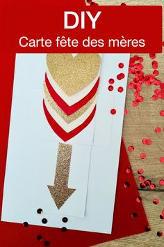 Carte fête des mères et carte fête des pères DIY : 10 idées simples et rapides - blog DIY création déco - Clem Around The Corner Faire soi-même carte de voeux fête des mamans scrapbooking réacollage, collimage, loisir créatif printemps collage pliage origami coeur carte de saint valentin animée Clem, Creation Deco, Blog Deco, Scrapbooking, Collage, Corner, Card Ideas, Greeting Cards, Collages
