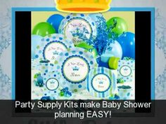Fun video showing a bunch of different ideas for having a little prince baby shower.