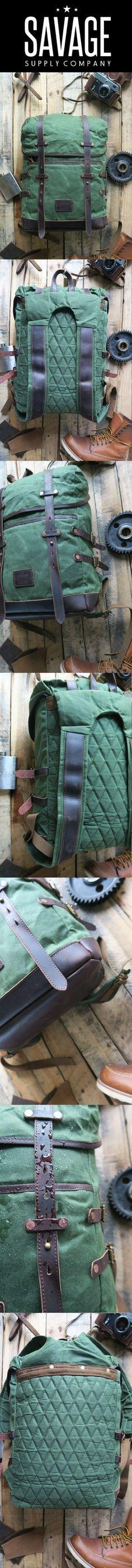 17 besten Backpack Bilder auf Pinterest | Handgewachst, Rucksack ...