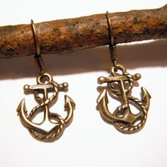 Anchor Earrings now featured on Fab.