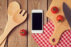 Smartphone Mock Up Template For Cooking Apps Display. Stock Image - Image of interface, space: 48801141 Blog Website Design, Mockup, Digital Marketing, Software, Smartphone, Templates, Display, Cooking, Design Blogs