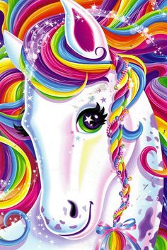 My mom would never buy Lisa Frank school supplies Diy Unicorn Horns, Unicorn Mom, Unicorn Crafts, Unicornio Poster, Lisa Frank Binder, Unicorn Backgrounds, Little Poni, Unicorn Fantasy, Unicorn Pictures