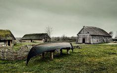 Viking Ribe, first Scandinavian town, Denmark. I think my Larason ancestors were from here.