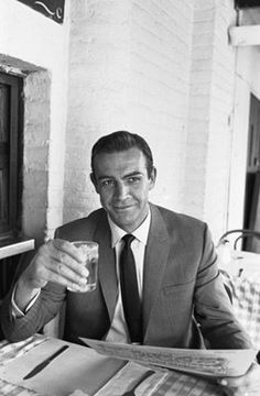 Sean Connery.   Sexiest man alive. He gets more handsome as he ages. He was really hot a few years ago and was in everything. Overexposed. Still he is Bond. James Bond.