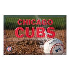 Chicago Cubs MLB Scraper Doormat (19x30)
