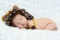 Lion Hat by BabyBeatrini on Etsy, $25.00