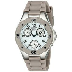 Invicta Women's 18794 Angel Analog Display Japanese Quartz Beige Watch -- Click image for more details. Chronograph, Quartz, Beige, Watches, Angel, Japanese, Display, Accessories, Floor Space